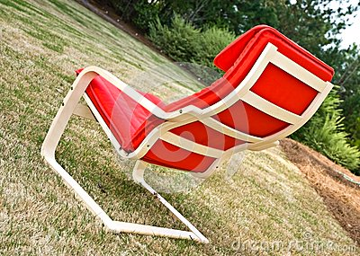 Red Chair Outdoors