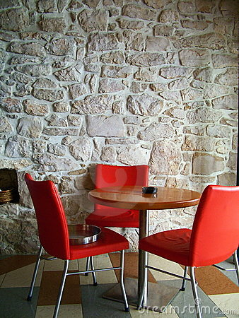 Free Red Chairs Stock Photography - 1991182