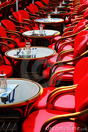 Free Red Chairs Stock Photos - 2446003