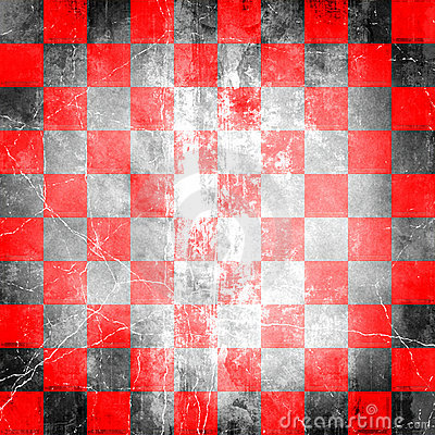 Free Red Checkered Grunge Stock Images - 6204324
