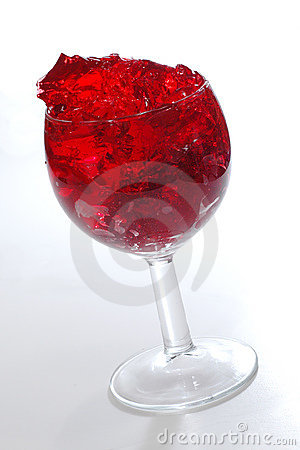Free Red Cherry Gelatin Dessert Royalty Free Stock Photo - 347825