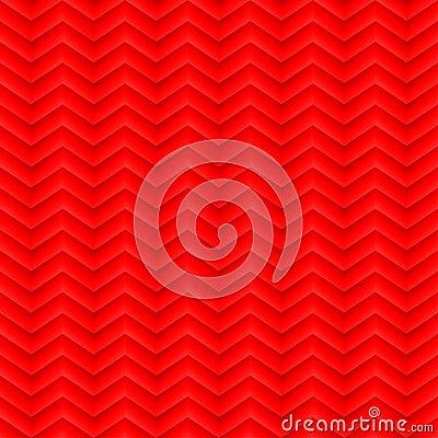 Red chevron pattern
