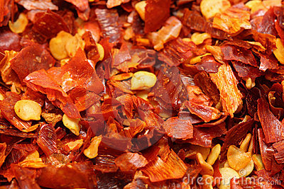 Red chili flake