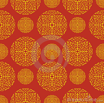 Red Chinese Pattern Background Stock Photos Image 20801333