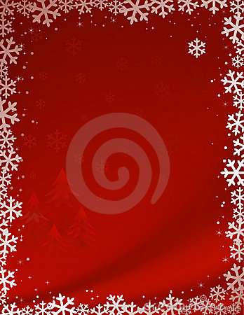 Free Red Christmas Background Royalty Free Stock Photos - 11741218