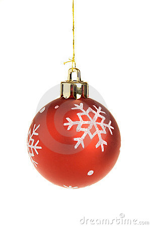 Free Red Christmas Ball Royalty Free Stock Photography - 1422987