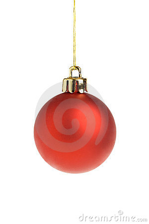 Free Red Christmas Ball Royalty Free Stock Photos - 1436388