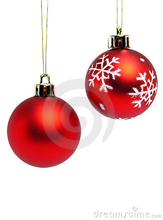 Free Red Christmas Balls Royalty Free Stock Photo - 226335