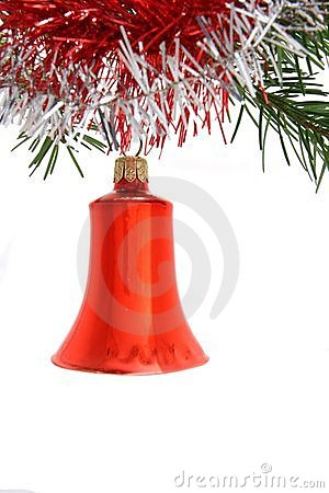 Free Red Christmas Bell Stock Photography - 3222262