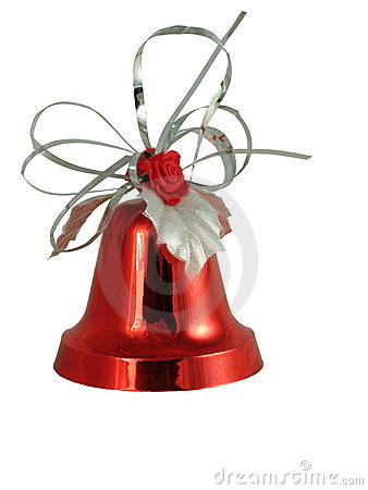 Free Red Christmas Bell Stock Images - 4214974