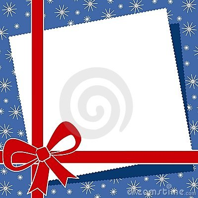 Free Red Christmas Bow Border 2 Stock Photography - 3551012