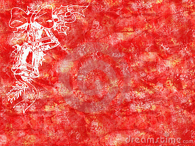 Red christmas grunge