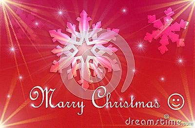 RED CHRISTMAS Holidays Postcard