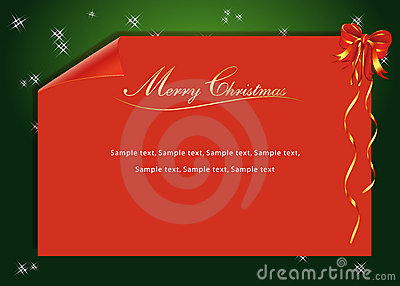 A red Christmas Letter
