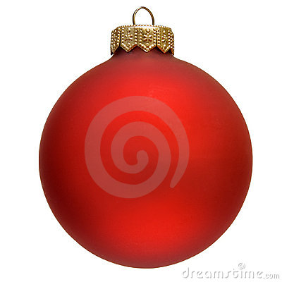 Free Red Christmas Ornament . Royalty Free Stock Photography - 11732907