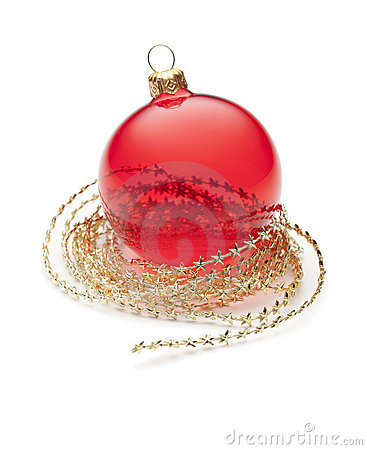 Free Red Christmas Ornament Royalty Free Stock Photo - 17048775