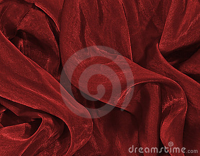 Red christmas satin background