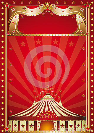 Red circus.
