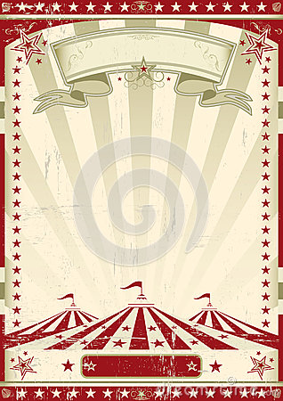 Free Red Circus Retro. Royalty Free Stock Image - 31192936