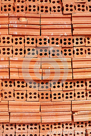 Red clay brick