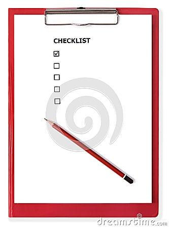 Blank+checklist+form