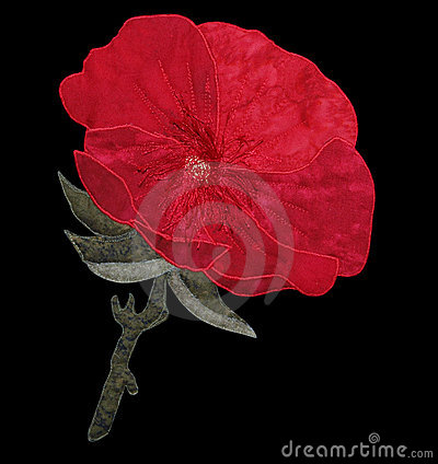 Red Cloth Poppy
