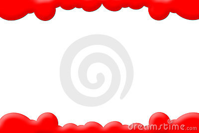 Red Clouds PhotoFrame