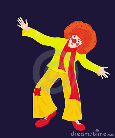 Red clown