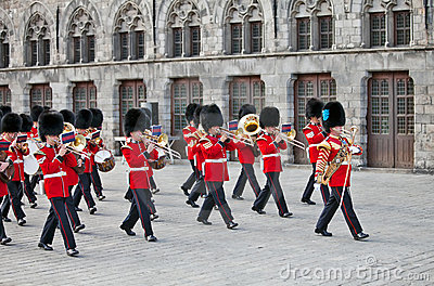 Red Coats and Guards Editorial Image