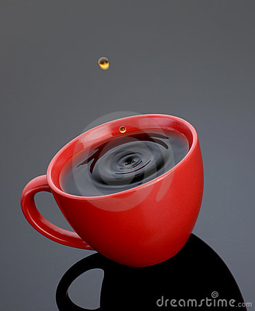 Red Coffe Cup