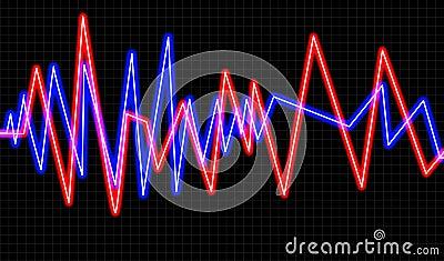 Red con la forma de onda 5