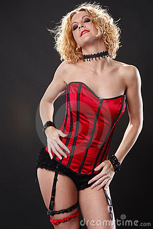 Red Corset Royalty Free Stock Photography - Image: 16985157
