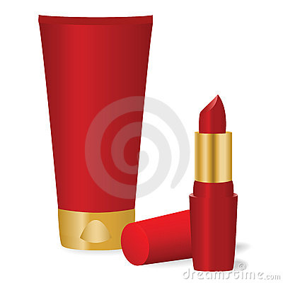 Red cosmetics
