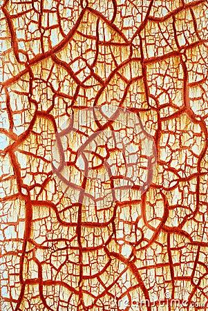 Red crack