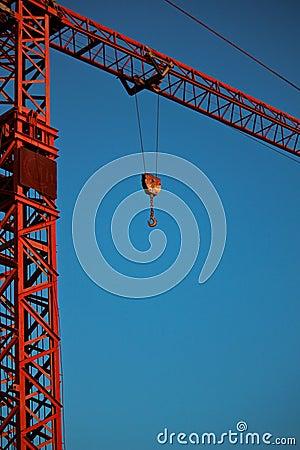 Free Red Crane Royalty Free Stock Image - 16287196