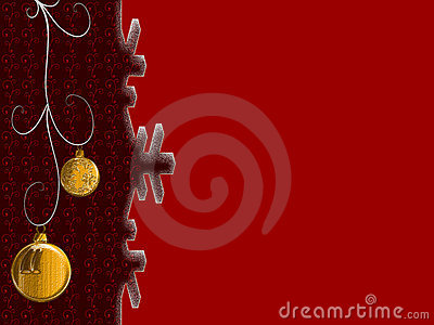 Red cristmas background