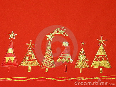 Red Cristmas paper