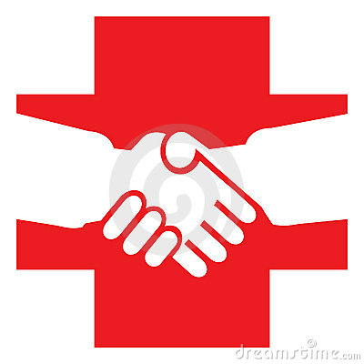 Free Red Cross Stock Image - 15012651