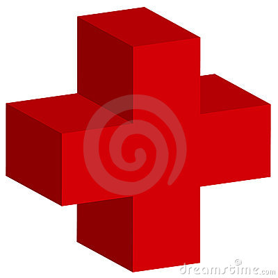 red crosses. RED CROSS 3D (click image to