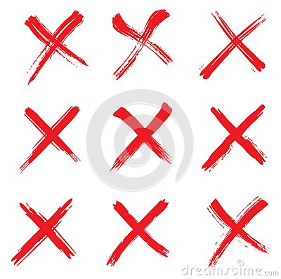 Free Red Cross Mark Royalty Free Stock Image - 106309206