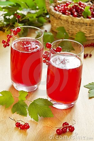 Free Red Currant Drink Royalty Free Stock Photography - 15017657