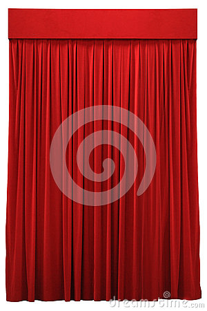 Free Red Curtain Stock Photos - 33393653