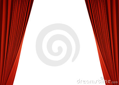 Red curtain (with path)