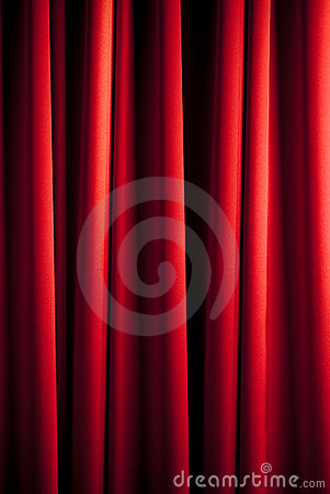 Free Red Curtain Pattern Royalty Free Stock Photography - 8377347