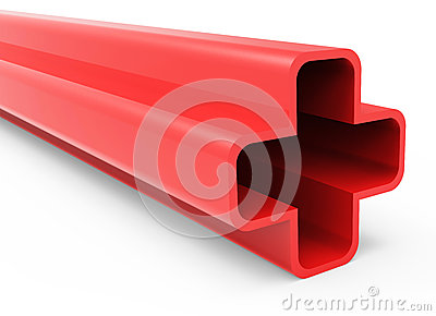 Red 3D Plus Sign