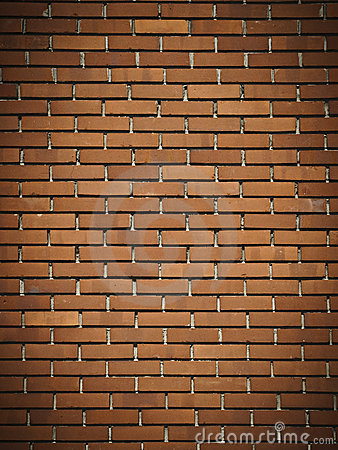 Free Red Dark Brick Wall Royalty Free Stock Photo - 19766635
