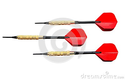 Red darts