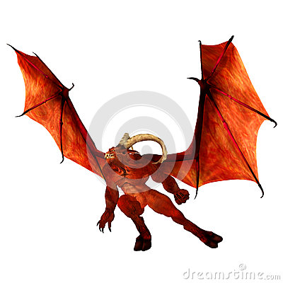 Free Red Demon Royalty Free Stock Images - 25009729