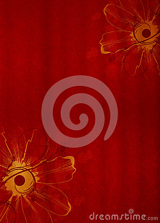 Red Design Background