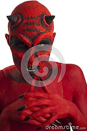 Free Red Devil. Stock Photos - 26454483